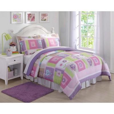 Full/Queen Happy Owls Comforter Set - My World