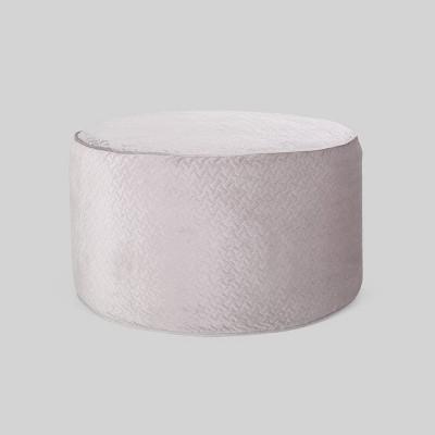 4' Arnside Glam Velvet Quilt Pattern Beanbag - Christopher Knight Home