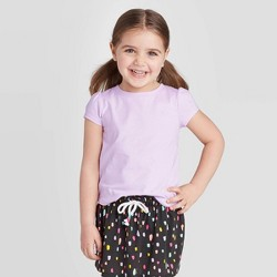 Toddler Girls' Short Sleeve Sparkle T-Shirt - Cat & Jack™