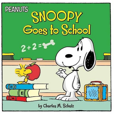 Snoopy Goes to School - (Peanuts) by  Charles M Schulz (Paperback)
