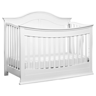 DaVinci Meadow 4-in-1 Convertible Crib with Toddler Rail - White
