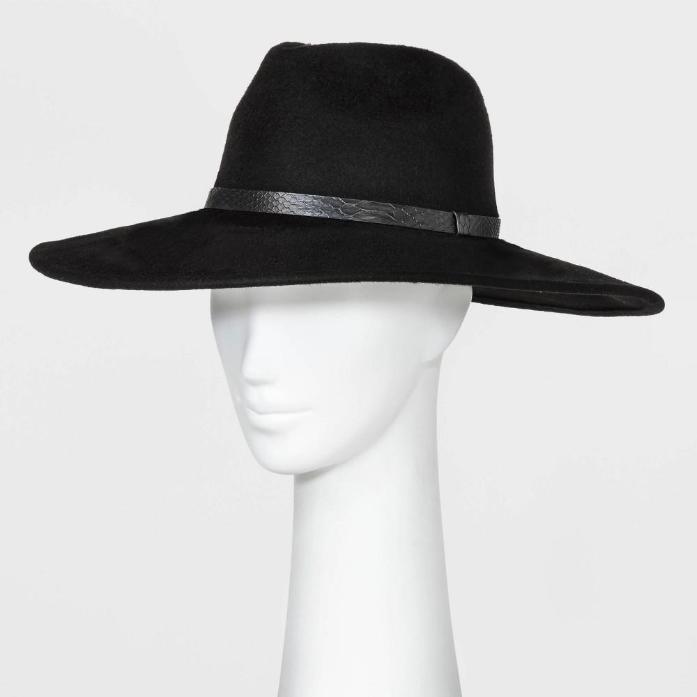 Cheap Women' Wide Down Brim Felt Fedora Hat - A New Day™