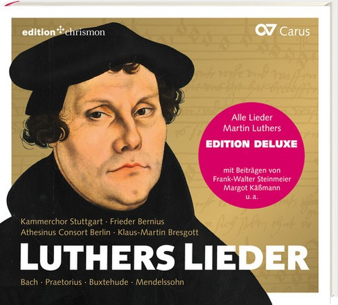 Various - Luthers Lieder (CD) - image 1 of 1