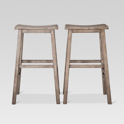 "29"" Trenton Saddle Seat Barstool - Threshold™"