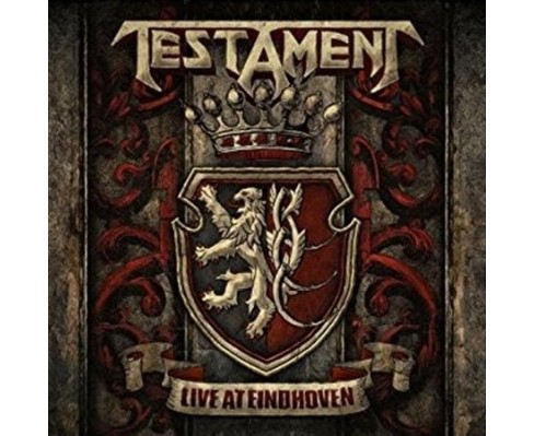 Testament - Live At Eindhoven (CD) - image 1 of 1