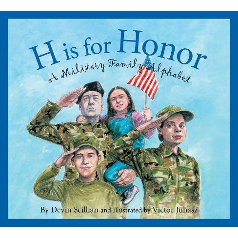 H Is for Honor - (Sleeping Bear Alphabets) (Hardcover) - image 1 of 1