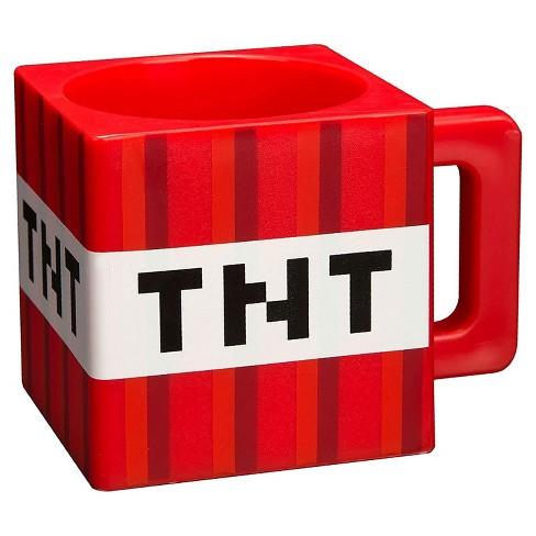 JINX Inc. Minecraft TNT 9.8 Ounce Plastic Coffee Mug - image 1 of 2