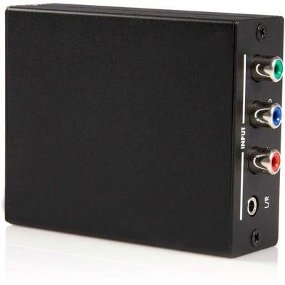 StarTech.com Component Video with Audio to HDMI® Converter - 1 x Mini-phone Female