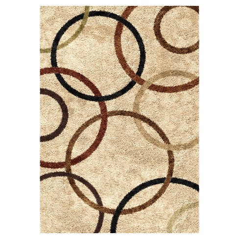 Circle of Life Bisque Rug - Orian - image 1 of 4