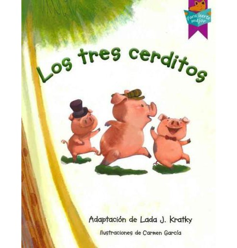 Los tres cerditos/ The Three Little Pigs (Paperback) - image 1 of 1