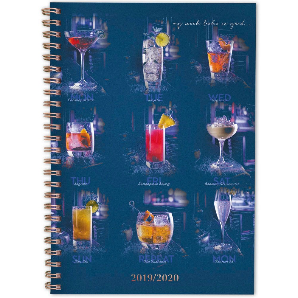 "Image of ""2019-2020 Academic Planner 5.5""""x 8.5"""" Drink To That - Cambridge"""