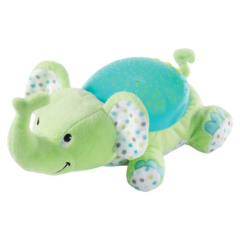 SwaddleMe® Slumber Buddies® Baby Soother and Sound Machine - Green & Blue  Elephant