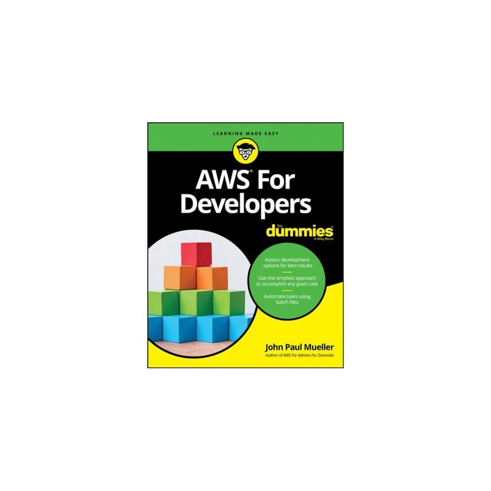 Aws for Developers for Dummies (Paperback) (John Paul Mueller)