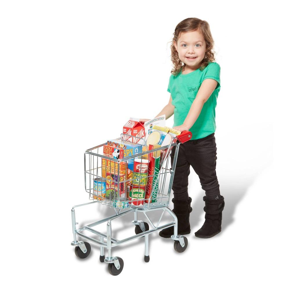 Melissa Doug Loaded Shopping Cart