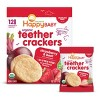 HappyBaby Strawberry & Beet Organic Teether Crackers - 12ct/0.14oz Each - image 2 of 3