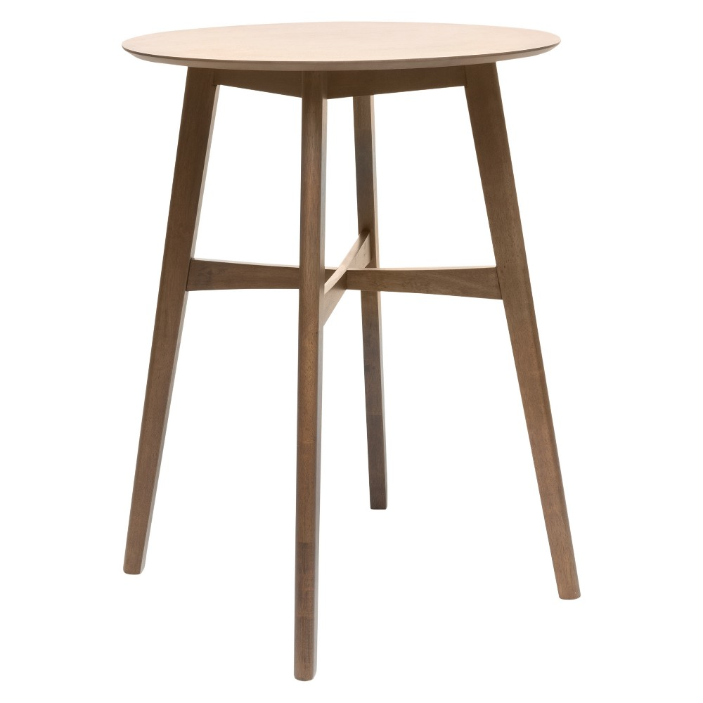 Tenley 42 Bar Table - Natural Walnut (Brown) - Christopher Knight Home