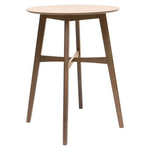 """Tenley 42"""" Bar Table - Natural Walnut - Christopher Knight Home - image 1 of 4"""