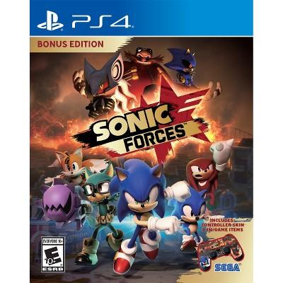 Sonic Forces Bonus Edition - PlayStation 4