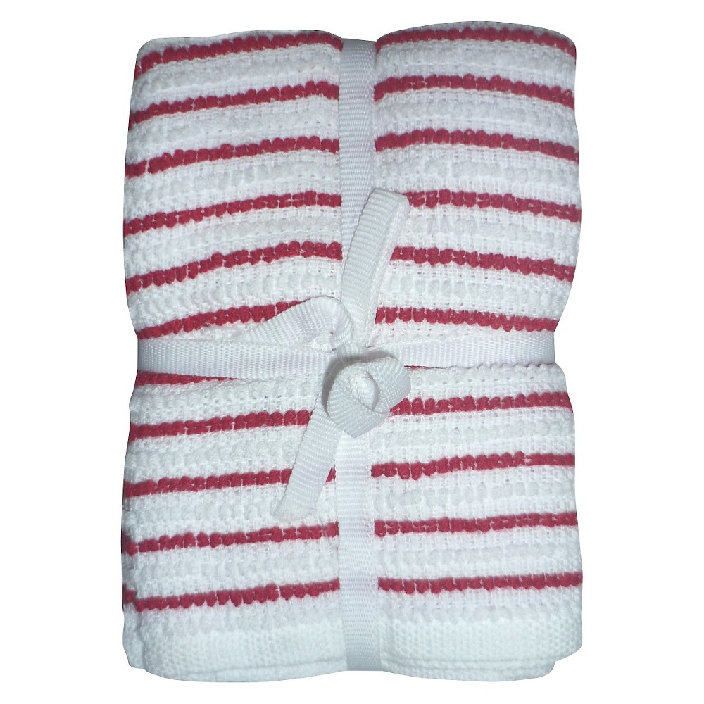 Ripe Red Stripe Dish Towel (6 Pk) - Room Essentials