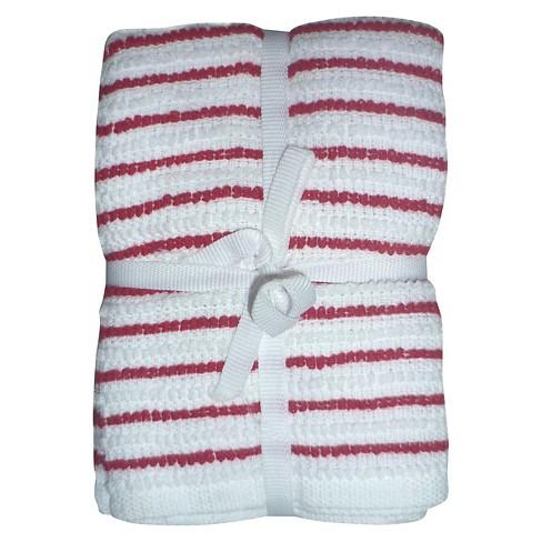 Ripe Red Stripe Dish Towel (6 Pk) - Room Essentials™ - image 1 of 1