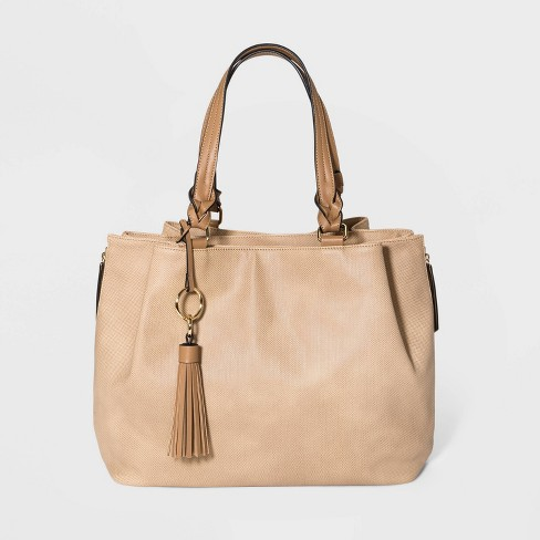 Vr Nyc Whipsched Tote Handbag With