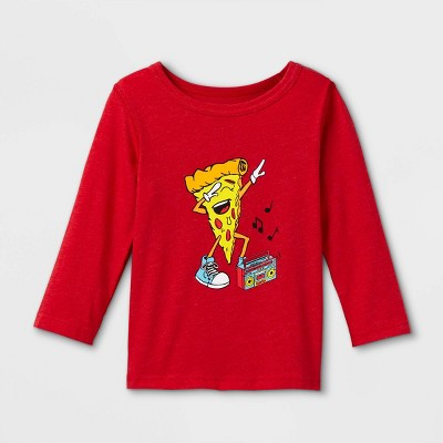 Toddler Boys' Adaptive Printed Long Sleeve Graphic T-Shirt - Cat & Jack™