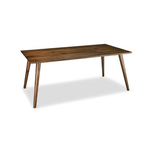 Lynx Dining Table Walnut - Poly & Bark - image 1 of 4