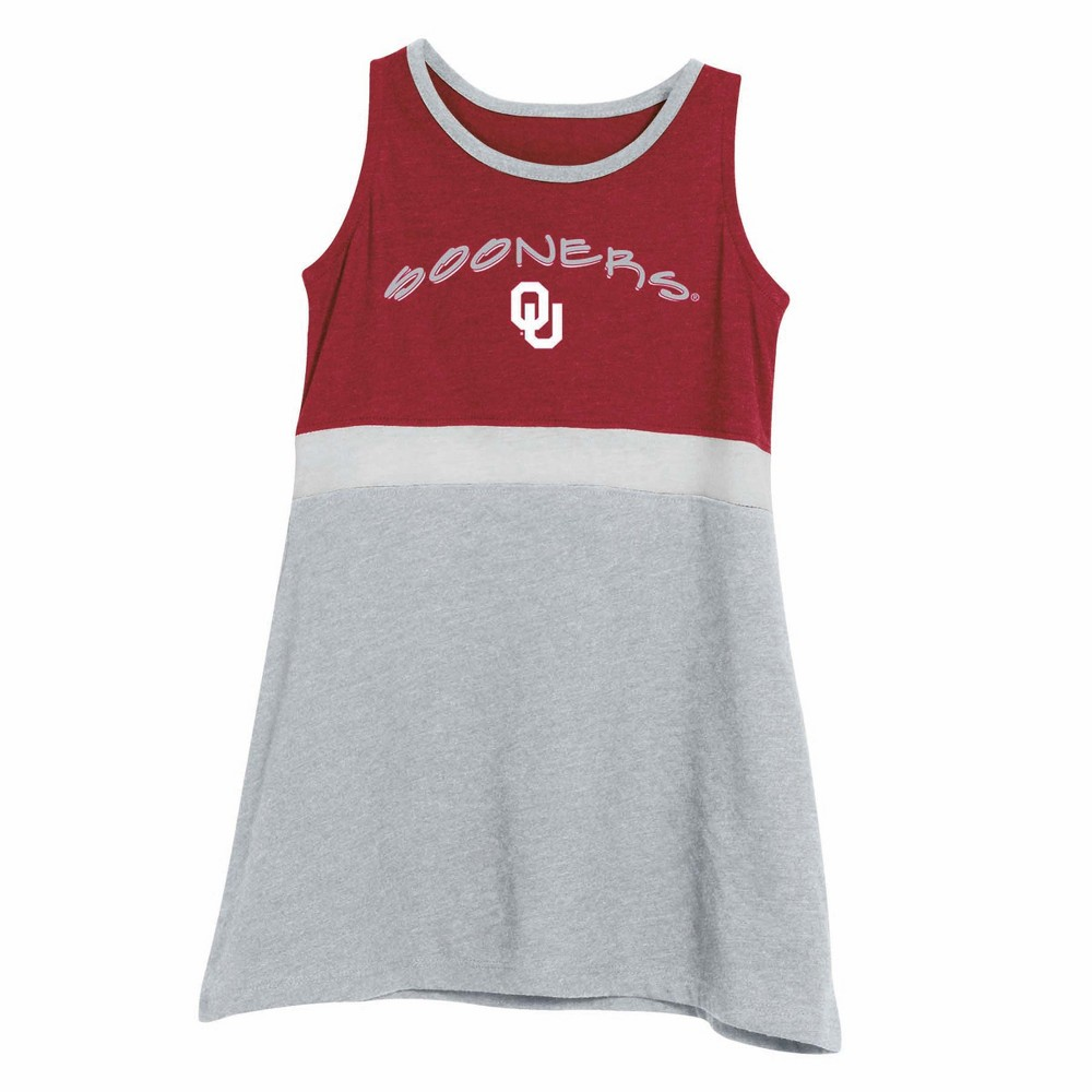 NCAA Infant Girls' Dress Oklahoma Sooners - 18M, Multicolored