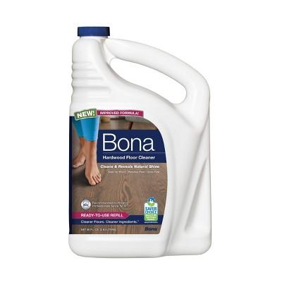 Bona Hardwood Floor Cleaner Refill - 96 Fl Oz