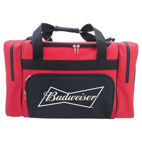 Anheuser-Busch Duffel Cooler Bag with Zippered Front and Side Compartments - Red (40 Can) - image 1 of 1