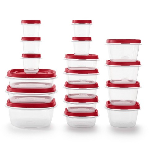 Rubbermaid 34pc Plastic Food Storage Container Set - image 1 of 4