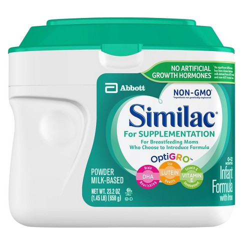 Similac 4pk Supplementation Non-GMO Infant Formula - image 1 of 5