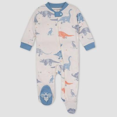 Burt's Bees Baby® Baby Boys' Jurassic Territory Sleep N' Play - Sky Blue 0-3M