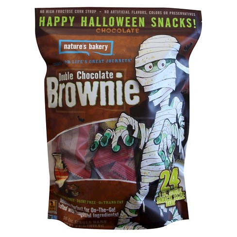 Nature's Bakery Halloween Double Chocolate Brownie - 24ct - image 1 of 1