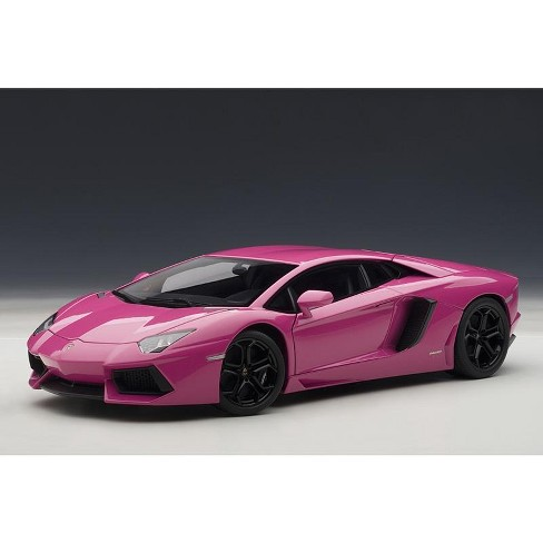 Lamborghini Aventador Lp700 4 Pink 1 18 Diecast Car Model By Autoart