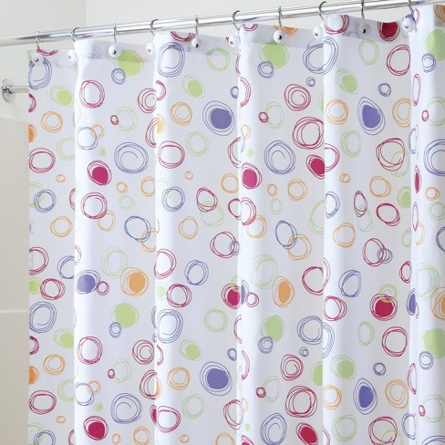 Doodle Bright Shower Curtain