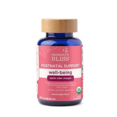 Mommy's Bliss Postnatal Support Well-being, Apple Cider Vinegar - 60ct