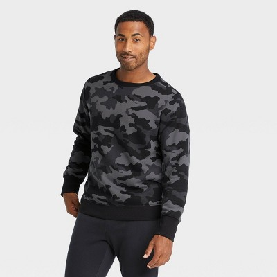 Men's Cotton Fleece Crewneck Sweatshirt - All in Motion™