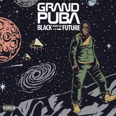 Grand Puba - Black From The Future (CD) - image 1 of 1