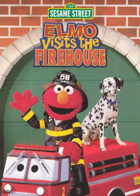 Elmo visits the firehouse (DVD) - image 1 of 1