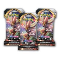 Pokemon Trading Card Game Sword & Shield S2 Blister Bundle of 3