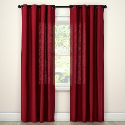 Natural Solid Curtain Panel Ruby Ring (54 x84 )- Threshold™