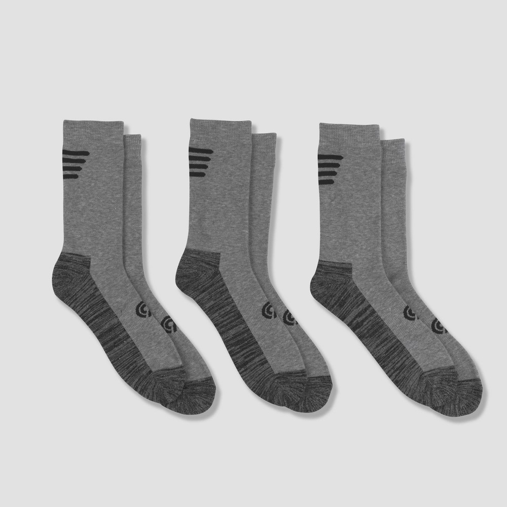 Image of Men's Outdoor Heavyweight Crew Socks 3pk - C9 Champion 6-12, Men's, Size: Small, MultiColored