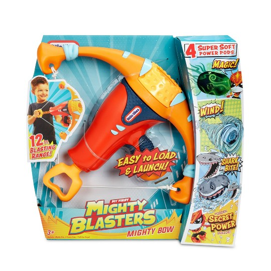 Little Tikes My First Mighty Blasters Mighty Bow 4 Soft Power Pods image number null