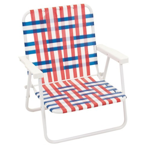Summer Webstrap Sand Beach Chair - image 1 of 1