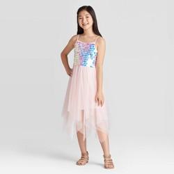 Girls' Payette Sequin Dress - Cat & Jack™ Blush
