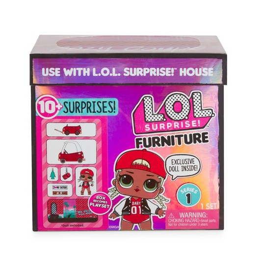 L.O.L. Surprise! Furniture with Cozy Coupe & M.C. Swag image number null