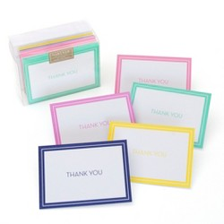 "50ct Solid ""Thank You"" Note Cards"
