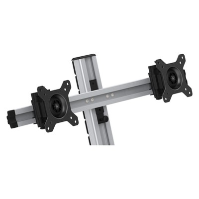 Dual Monitor Arm for EFD - Silver