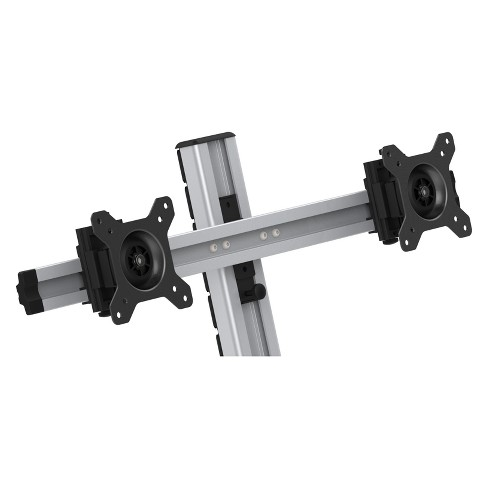 Dual Monitor Arm for EFD - Silver - image 1 of 4